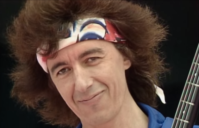 Bill Wyman had great hair in the 80s