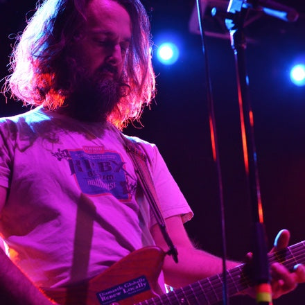 Brett Netson from Built to Spill performs in his Peruvian guitar strap