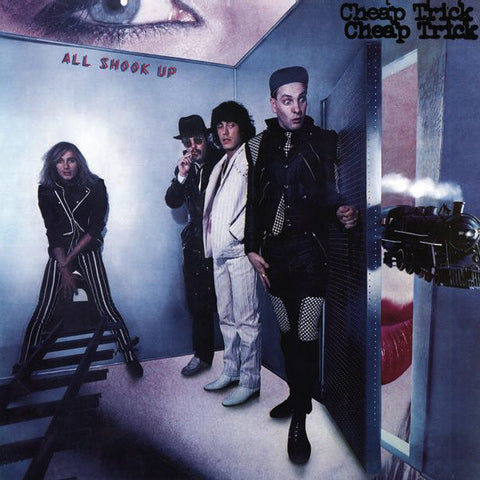 Cheap Trick album 'All Shook Up' produced by George Martin in 1980.