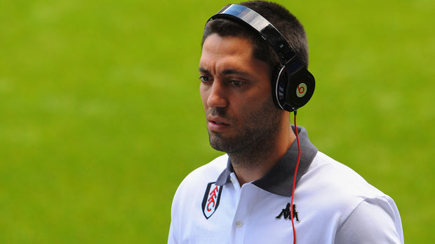 Clint Dempsey rocks headphones as a part of his program ritual