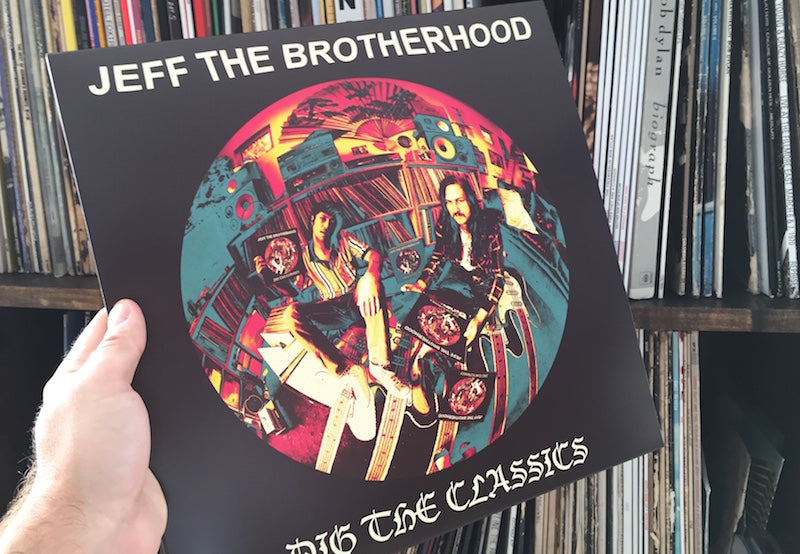 Dig the Classics by Jeff the Brotherhood album art