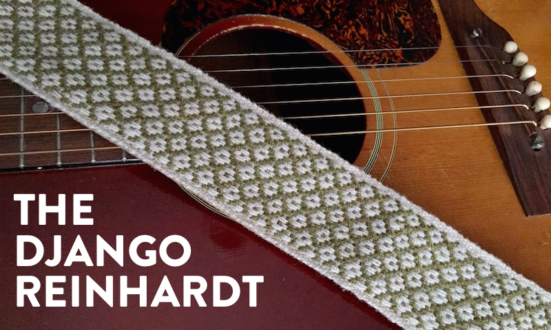 Preview of the Django Reinhardt Peruvian Strap