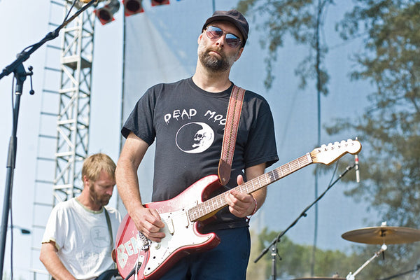 Doug Martsch of Built to Spill rocks a Fuzz Strap at the 2012 Riot Festival in Humboldt Park