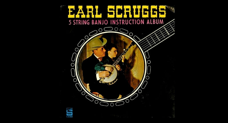 Cover of Earl Scruggs and the 5 String Banjo Instruction Album