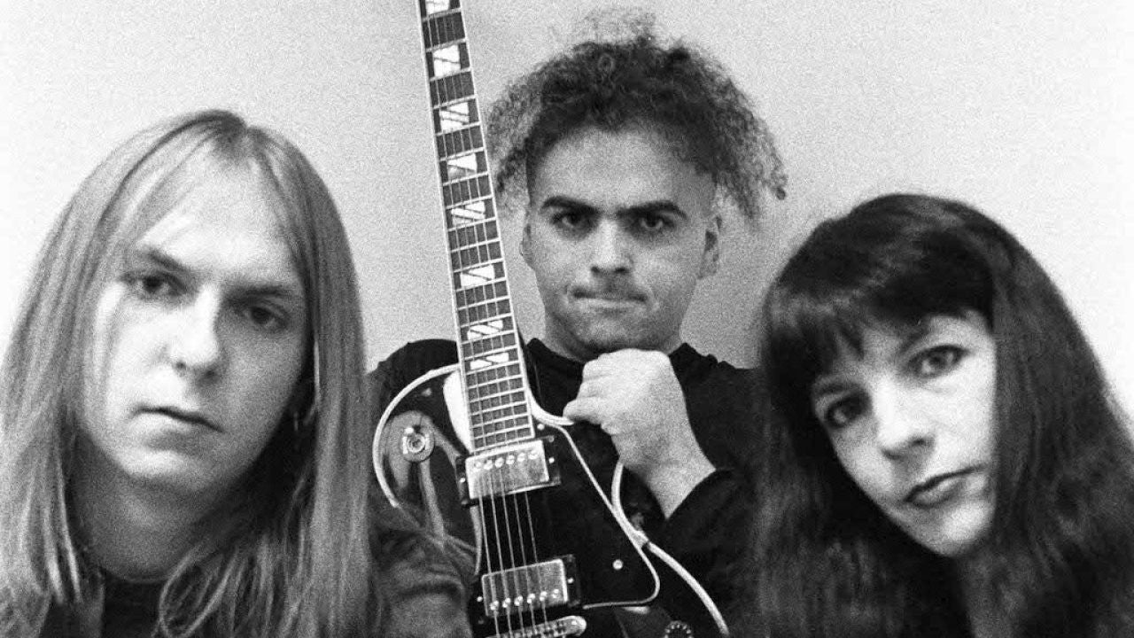 An early Melvins band photo