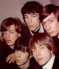 Early photo of the Rolling Stones