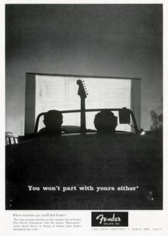 Fender garage ad