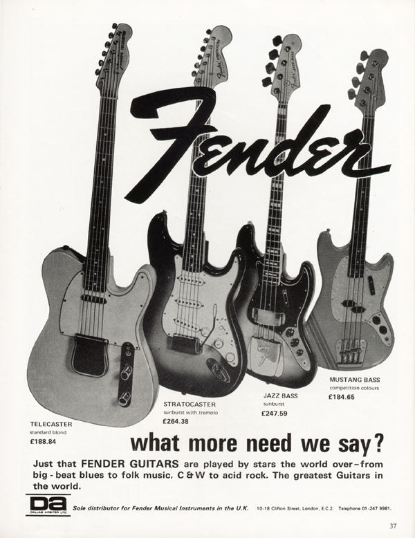 Fender Need We Say More Ad