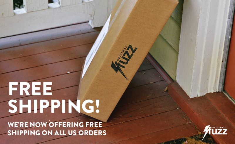 We now offer Free Shipping on all US orders