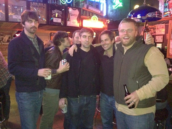 Good friends hang out at Robert's Western World in Nashville