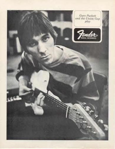 Fender gary pucket ad