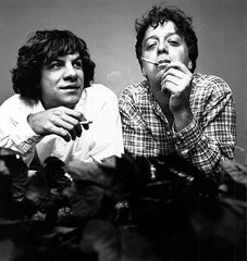 Classic photo of Gene and Dean Ween