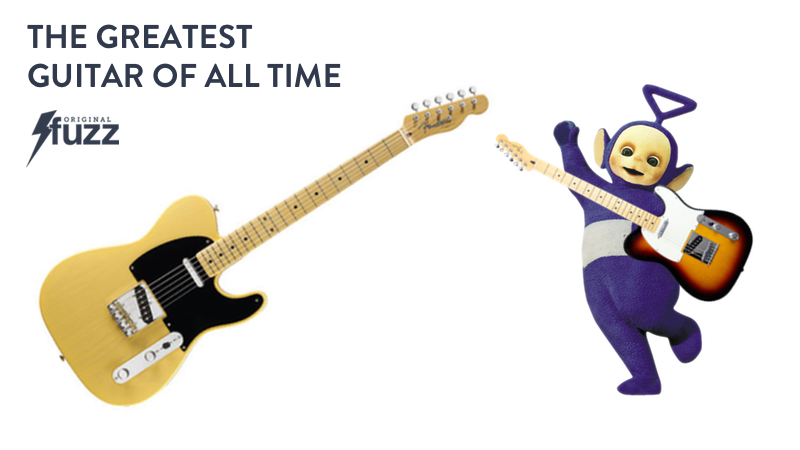 Banner for the Telecaster, which won our March Madness of Guitars tournament