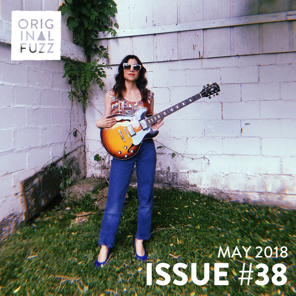 Original Fuzz Magazine Issue 38 featuring Coco Reilly, Kid Koala, Guitar for a Minute, and a new mixtape.
