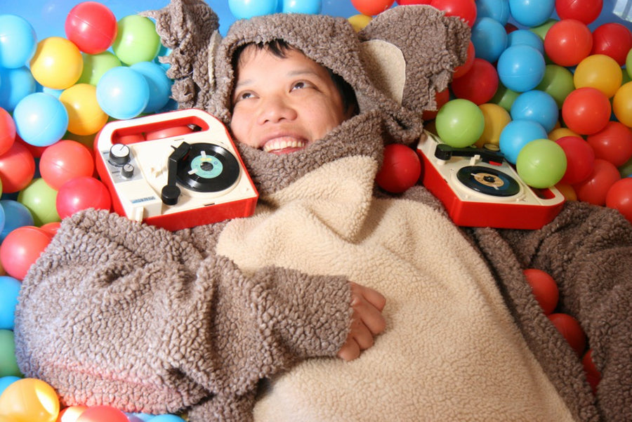 DJ Kid Koala feature in Original Fuzz Magazine.