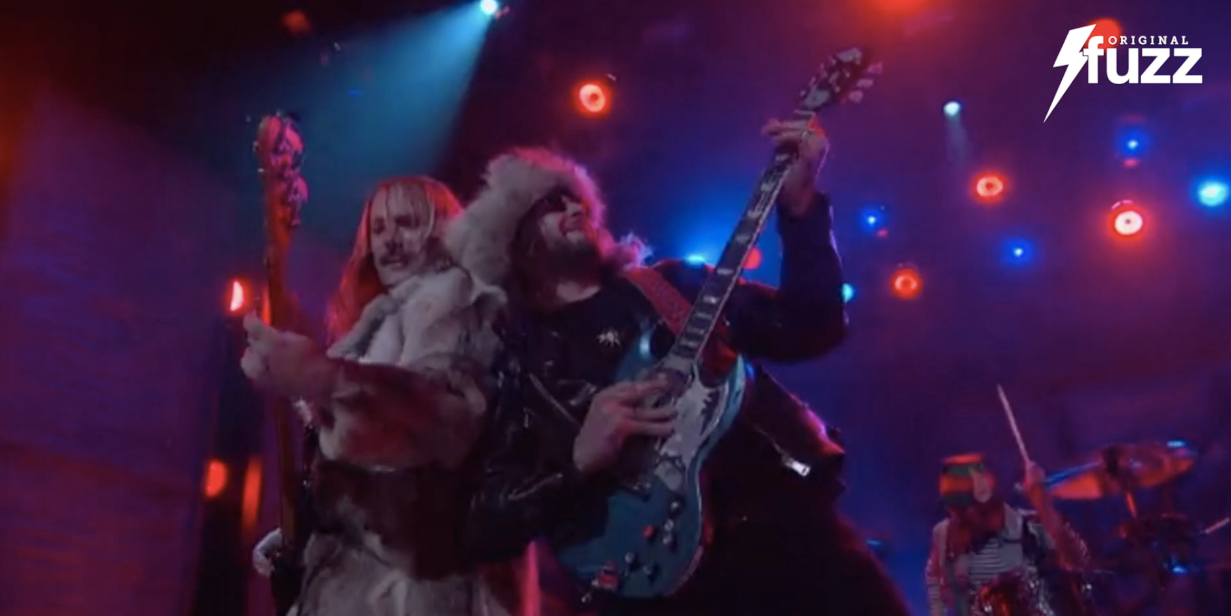 Original Fuzz guitar straps made their TV debut with King Tuff last night on Conan O'Brien