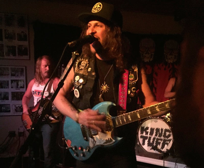 King Tuff plays at Proud Larry's in Oxford, MS