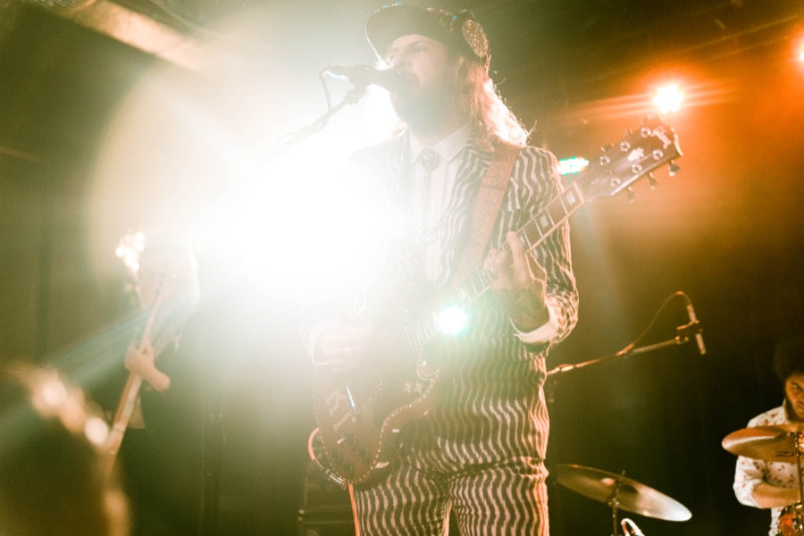 King Tuff performing at the Basement East in Nashville.