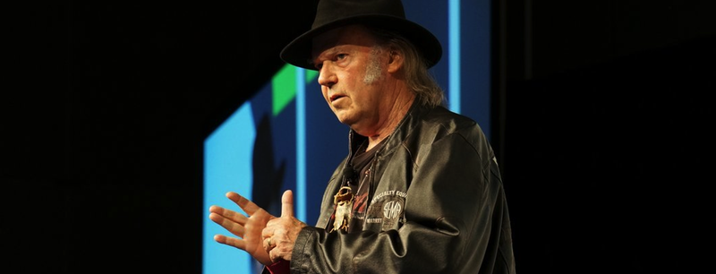 Neil Young discusses Pono at SXSW 2014