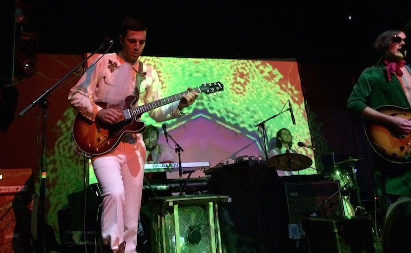 Of Montreal on tour wearing guitar straps by Original Fuzz - Photo 1