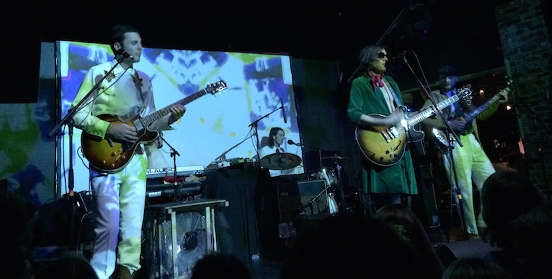 Of Montreal on tour wearing guitar straps by Original Fuzz - Photo 2