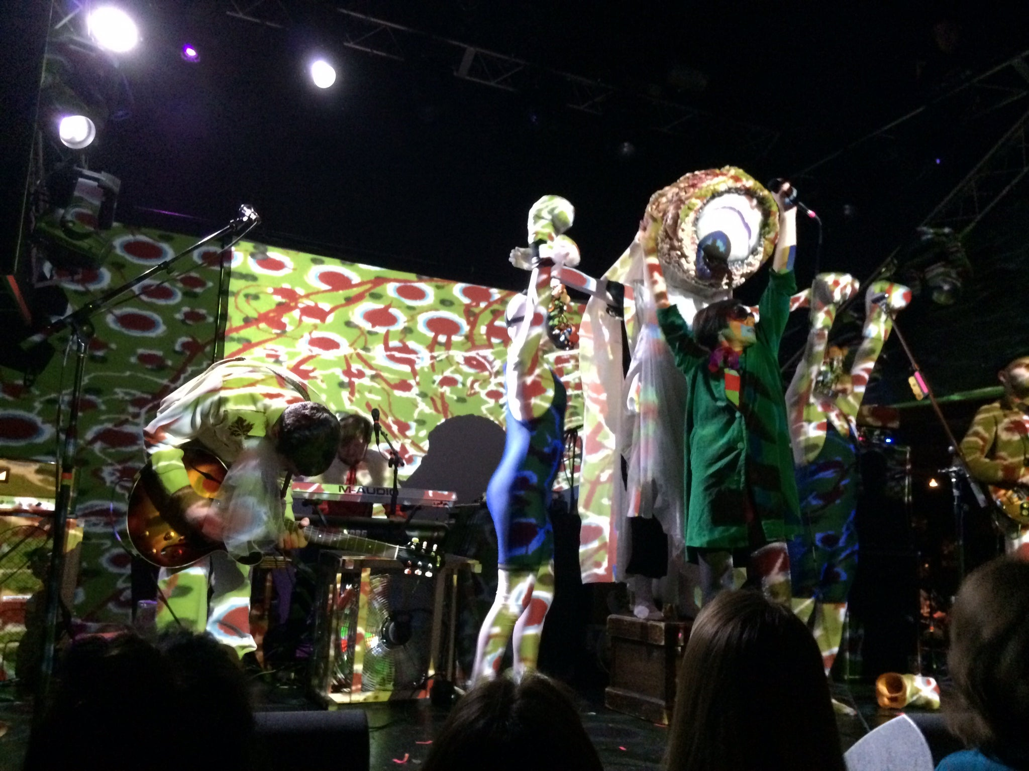 Of Montreal on tour wearing guitar straps by Original Fuzz - Photo 4
