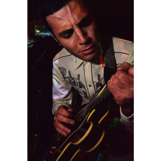 Of Montreal on tour wearing guitar straps by Original Fuzz - Photo 6