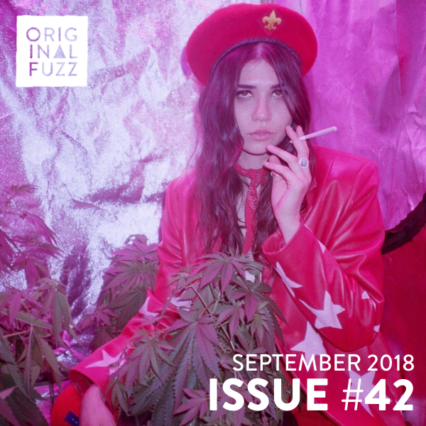 Original Fuzz Magazine Issue #42 with Pearl Charles, Gold Star, Emily Miller and a new mixtape