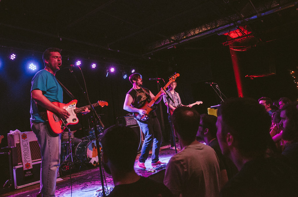 Parquet Courts performs at the Basement East in Nashville touring on their new record Wide Awake!