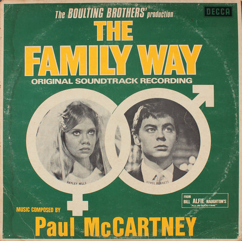 The Family Way original soundtrack from 1966 produced by George Martin.