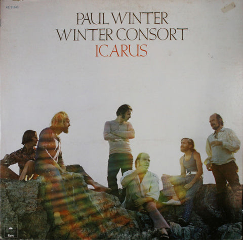 Paul Winter and Winter Consort album 'Icarus' produced by George Martin in 1972.