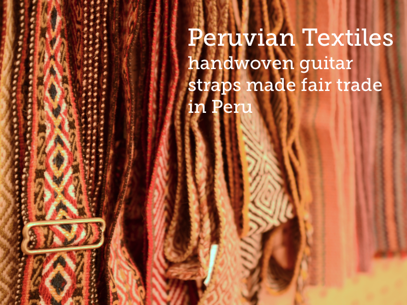 A sneak peak at the handwoven Peruvian textiles that will be in  the new Fuzz Straps. Coming early 2013.