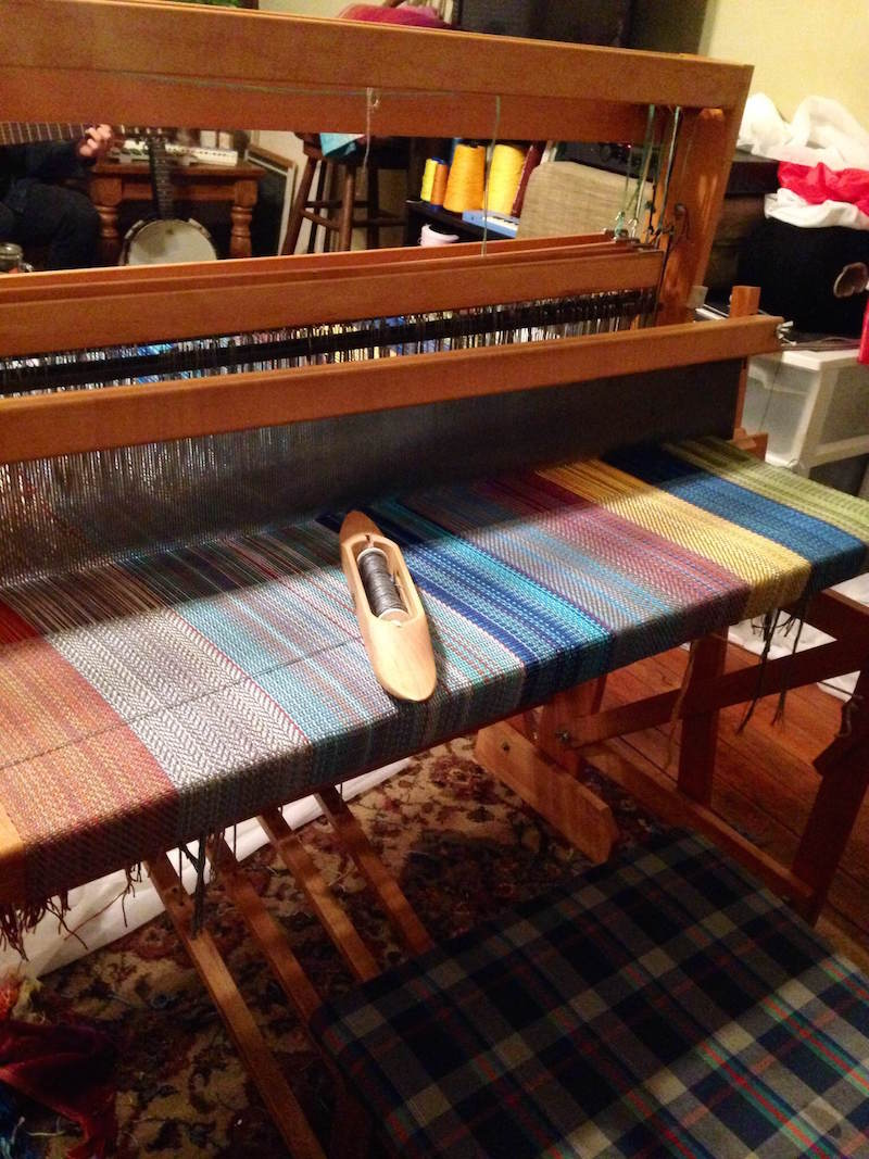 Another shot of the loom