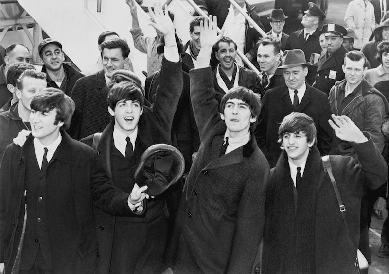 The Beatles Land in New York City, February 1964