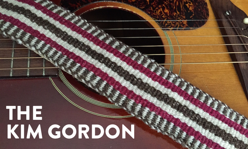 Preview of the Kim Gordon Peruvian Strap