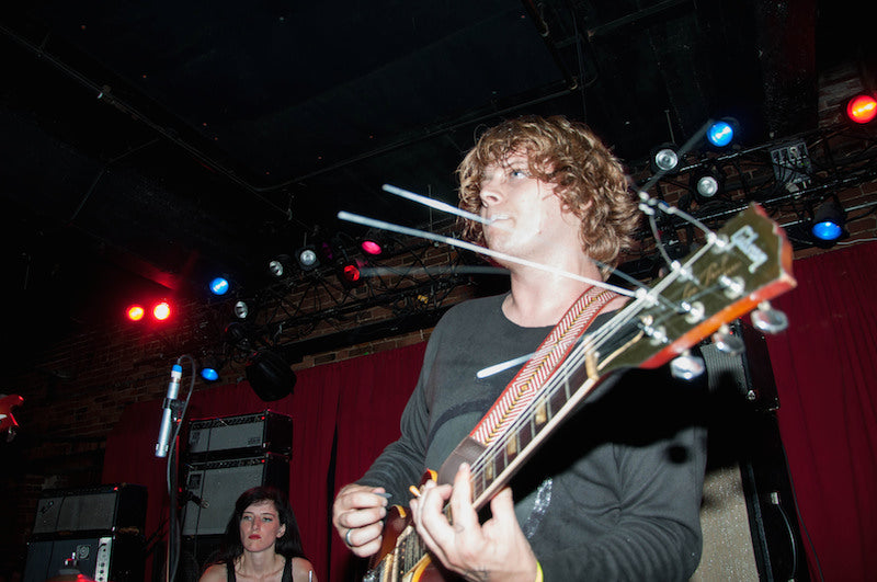Ty Segall at the Mercy Lounge in Nashville with a Fuzz Strap Photo 2 of 13 by Amber Davis