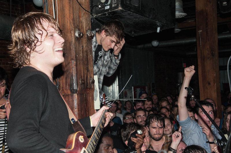 Ty Segall at the Mercy Lounge in Nashville with a Fuzz Strap Photo 10 of 13 by Amber Davis