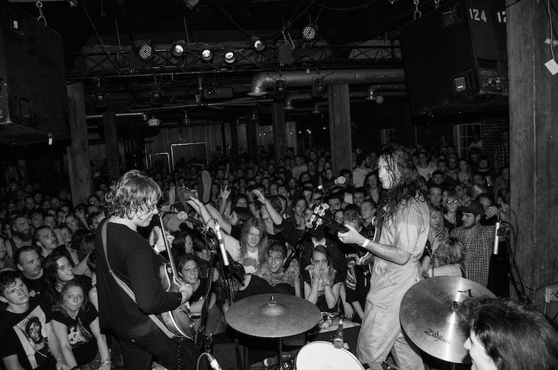 Ty Segall and Mikal Cronin at the Mercy Lounge in Nashville with a Fuzz Strap Photo 11 of 13 by Amber Davis