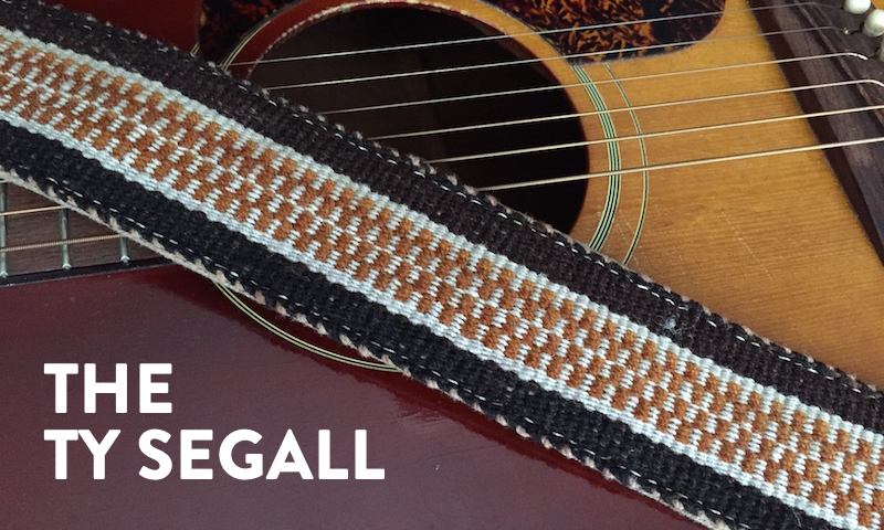 Preview of the Ty Segall Peruvian Strap
