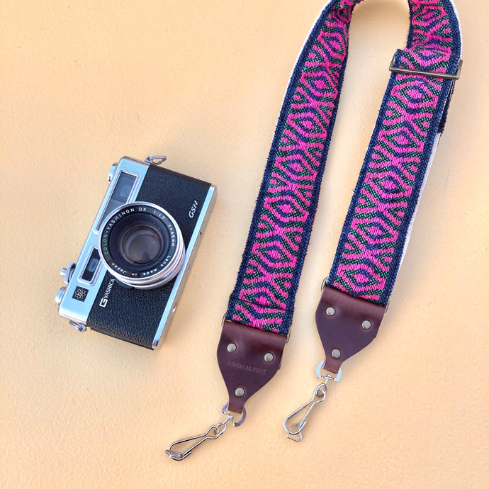 Indian Camera Strap in Padma