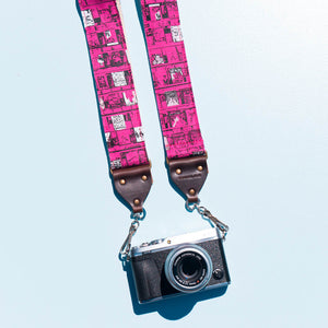 Silkscreen Camera Strap in Ron Gallo Product detail photo 1