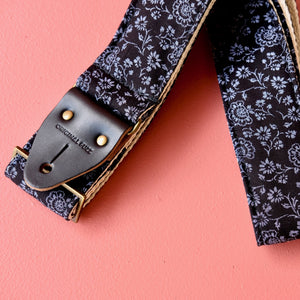 Floral Guitar Strap in Blackpool Product detail photo 3