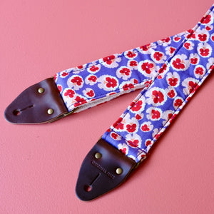 Floral Guitar Strap in Chiswick Product detail photo 1