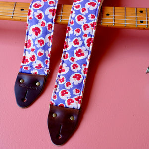 Floral Guitar Strap in Chiswick Product detail photo 3