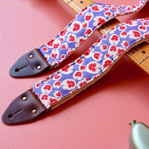 Floral Guitar Strap in Chiswick Product detail photo 2