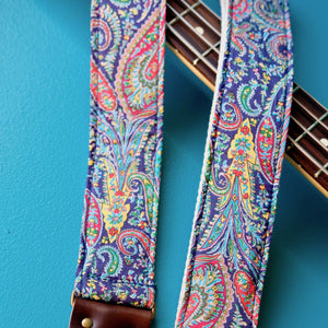Paisley Guitar Strap in Fatherland Product detail photo 2