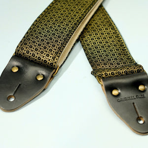 Floral Guitar Strap in Amman Valley Product detail photo 7