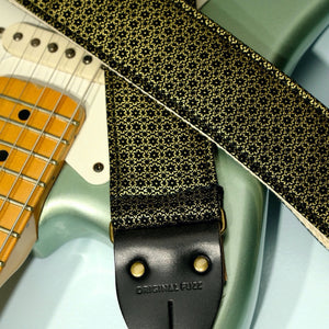 Floral Guitar Strap in Amman Valley Product detail photo 1