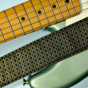 Floral Guitar Strap in Amman Valley Product detail photo 4