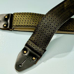 Floral Guitar Strap in Amman Valley Product detail photo 0